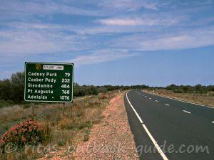 Explore the route from Adelaide to Alice Springs