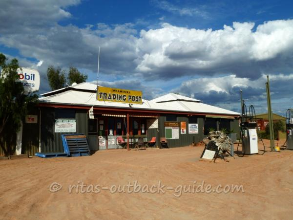 A general store in the Outback, Innamincka, South Australia