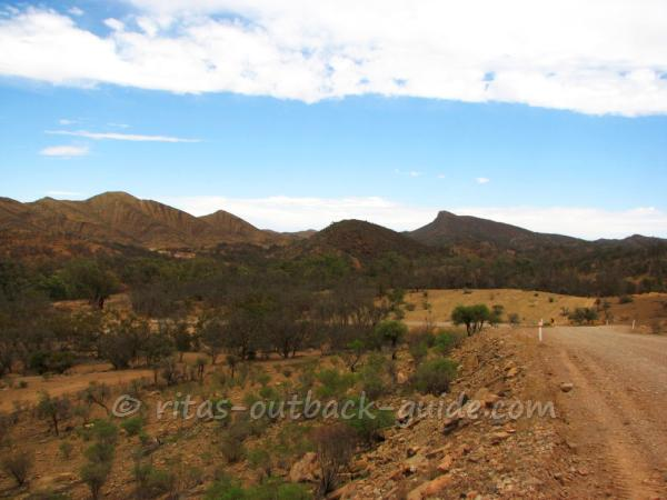 The rough and beautiful landscapes of the Flinders Ranges.