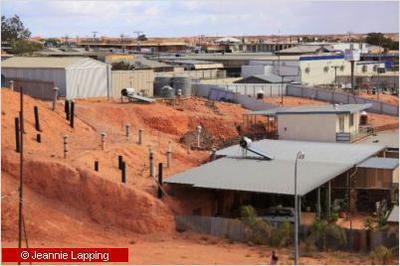 Ventilation shafts Coober Pedy