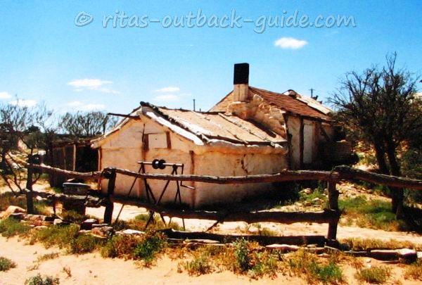Old hut at Andamooka