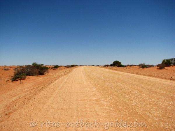 Borefield Road connects Roxby Downs with Oodnadatta Track