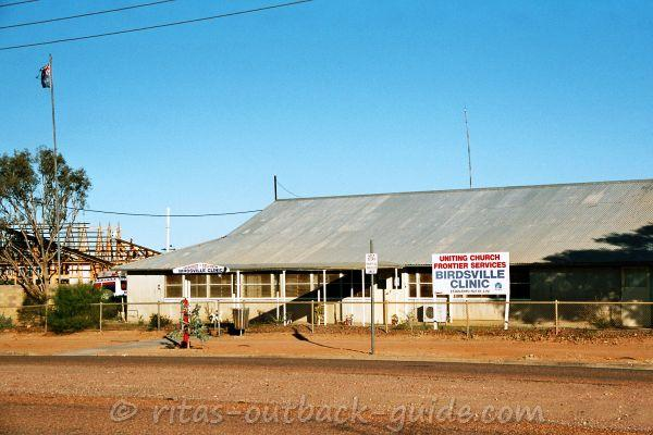 The old Birdsville clinic