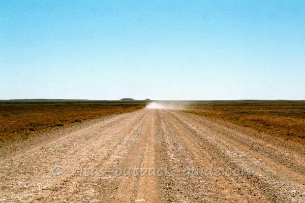 A stony road in Outback South Australa