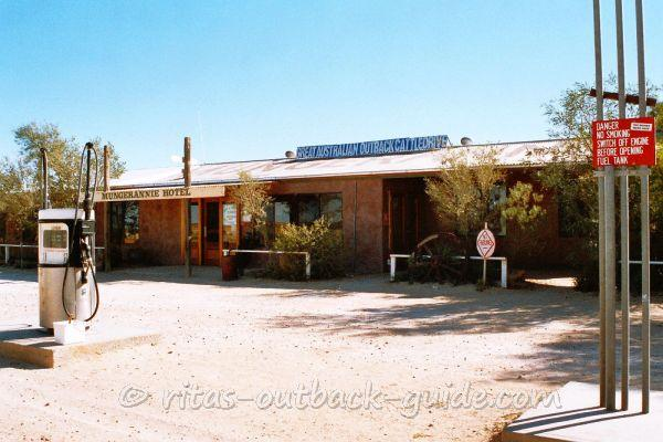 Mungerannie roadhouse is a typical Outback pub