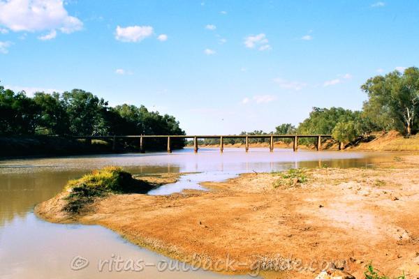 The bridge over Cooper Creek near Windorah
