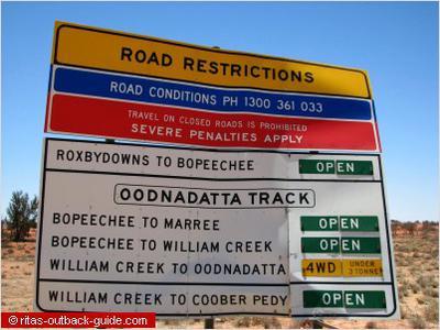Sign at Borefield Road