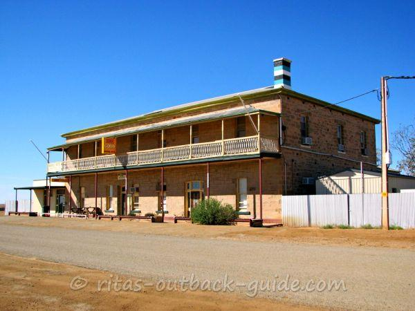 A historic Outback hotel in Marree