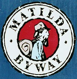 Logo Matilda Byway