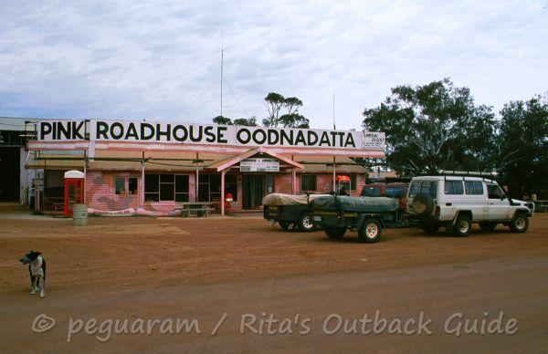 The famous pink roadhouse
