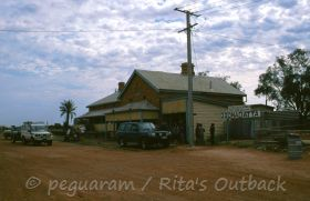 Go and see the train station and museum in Oodnadatta and continue to Marla