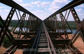 Go to the huge Algebuckina railway bridge and discover other sights from William Creek to Oodnadatta