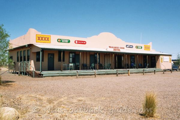 The famous Crocodile Dundee Pub in McKinlay, Queensland