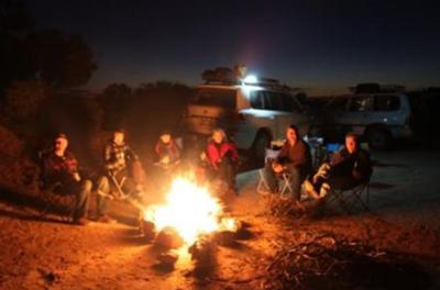 Campfire on the Cooper