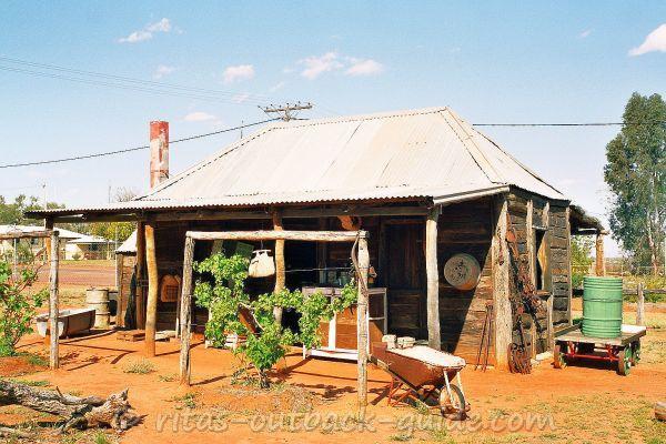 A slab hut