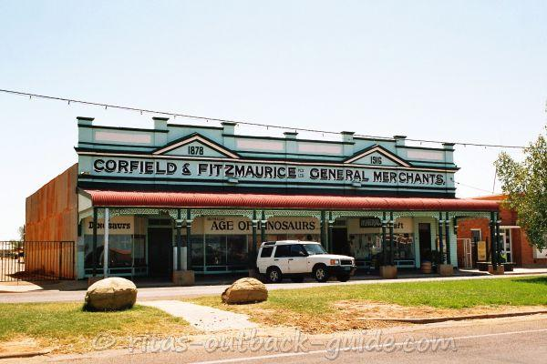 The historic building of the Corfield & Fitzmaurice store