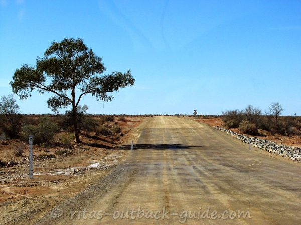 Lyndhurst to Marree road