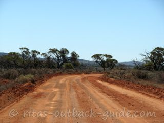 Typical Outback road