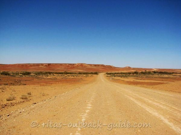 Very dry soil in the Australian Outback