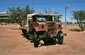Go and see this old truck in Marree and much more